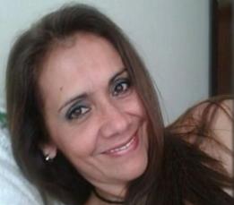 Maria de Fátima teve 40% do corpo queimado pelo ex-companheiro em Joinville, SC (Foto: Reprodução/RBS TV)