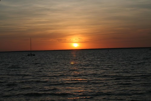Sunset Fannie Bay Darwin Sailing Club