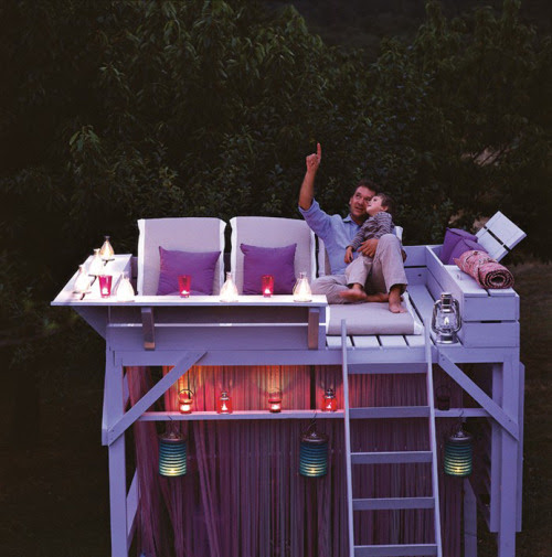 summer outdoor eyecandy: family observation deck (via ducotedechezvous)