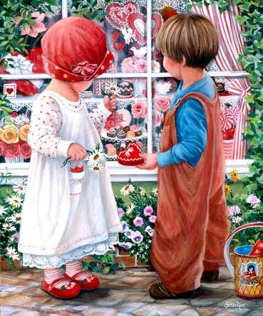 Art : Susan  Rios   Magnifiques Tableaux
