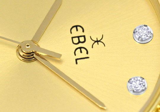 Foto 3, Ebel Junior Sport Classic Stahlgold 59 Diamanten Topuhr, U1347