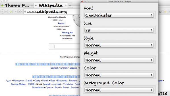 الحل الوحيد هو تكبير الصفحة بشكل كامل دون إمكانية تكبير الخطوط فقط.
