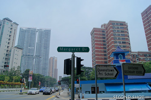 Margaret Drive at Tanglin Road Junction