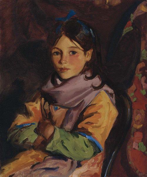 veareflejos:  Robert Henri, Mary Agnes, c. 1924.