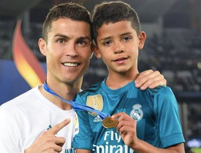 See The Advice Cristiano Ronaldo Gave His Son On Becoming One Of The Greatest Footballer