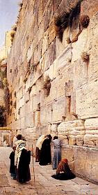 The Wailing Wall, by Gustav Bauernfeind 1904