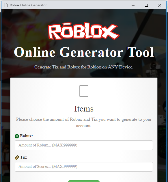 Roblox Robux Generator Updated | Roblox Hack Arsenal