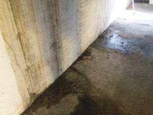 Oil Spills and leaks can be Released Under Building At Floor Seams