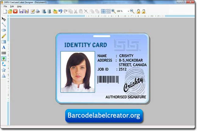 student id card maker software free download