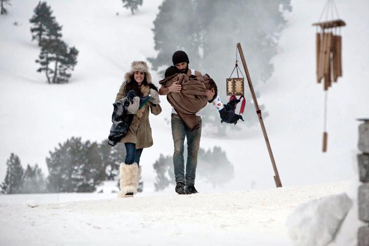 Álex García y Verónica Echegui en Kamikaze - fotograma de la película