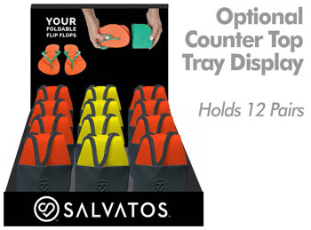 Salvatos Flip-Flop Display