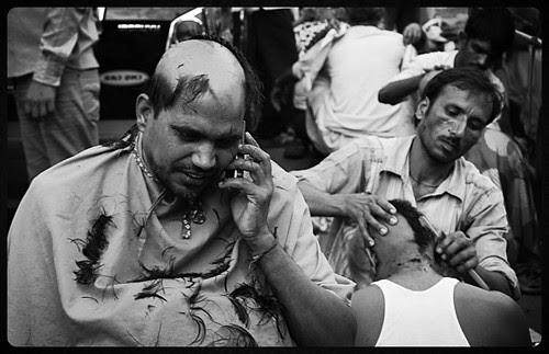 Barbers At Banganga by firoze shakir photographerno1