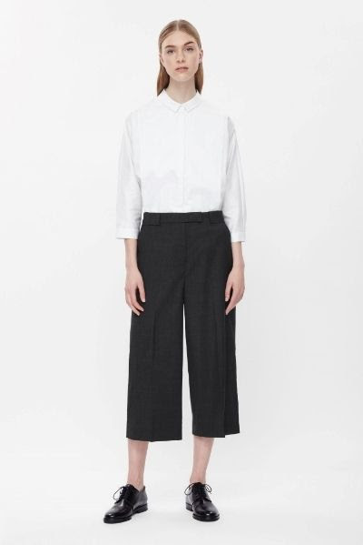 COS Tailored Wool Trousers