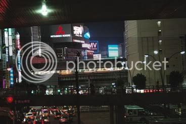 Confusa entrada a Shibuya