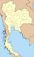 Map of Thailand with the provincial boundaries as of 1915