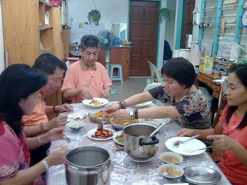 Delicious lunch at aunt's house (2nd day of Chinese New Year) 3