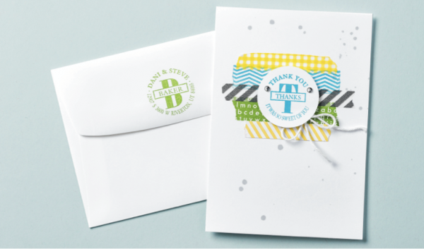 Stampin Up Say It Your Way   With A Personalized Stamp