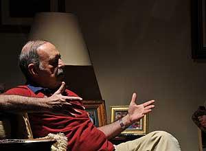 Marcílio Duarte em entrevista à Folha