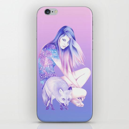 Galaxy Wanderer iPhone & iPod Skin