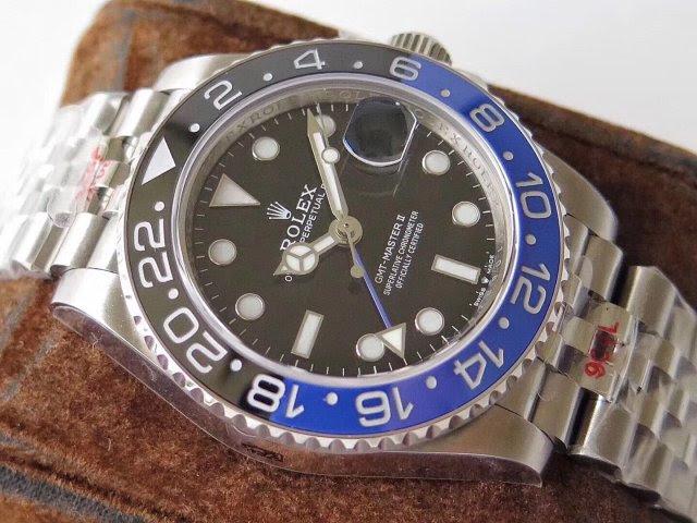 Replica Rolex 126710BLNR with Jubilee Bracelet
