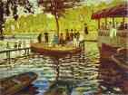 Claude Monet.  Le Grenoillère.