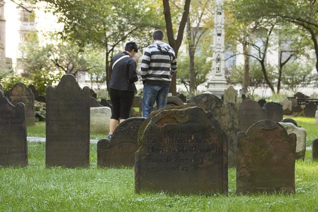 Trinity Church graveyard