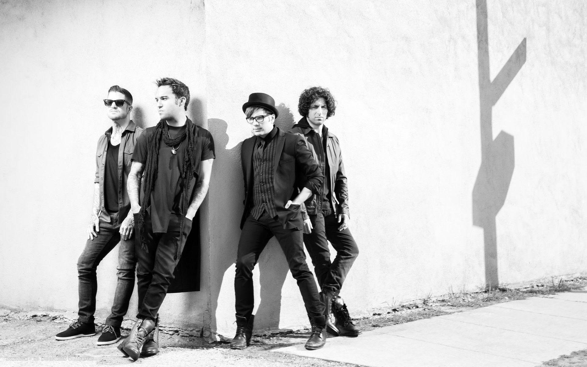Fall Out Boy Music Band Group Hd Widescreen Wallpaper Music
