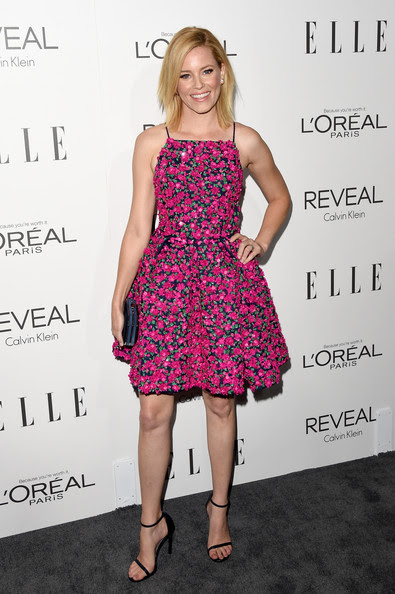 Actress Elizabeth Banks attends ELLE's 21st Annual Women in Hollywood Celebration at the Four Seasons Hotel on October 20, 2014 in Beverly Hills, California.