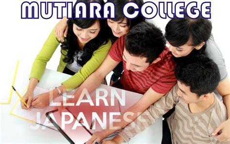 les privat bahasa jepang  jakarta mutiara college