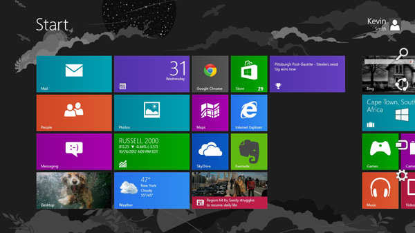 Windows 8: 2012