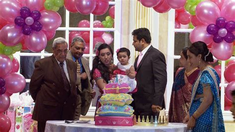 Grand Entrance of Indian First Birthday Party in Toronto