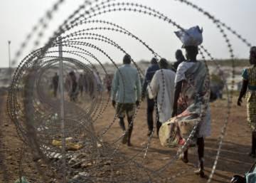 La ONU alerta de que milicias del Gobierno de Sudán del Sur violan como parte del salario