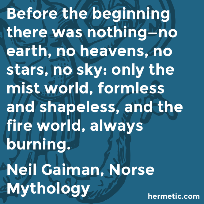 Before The Beginning There Was Nothing The Hermetic Library Blog