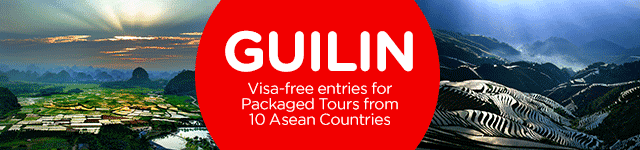 Guilin - Visa-free entries for Packaged Tours from 10 Asean Countries