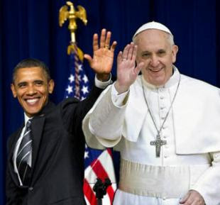 Papa Francesco Barack Obama