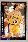 2008 2009 Fleer Basketball Card # 107 Sasha Vujacic Lakers Mint Condition - Shipped In Protective ScrewDown Display Case!!