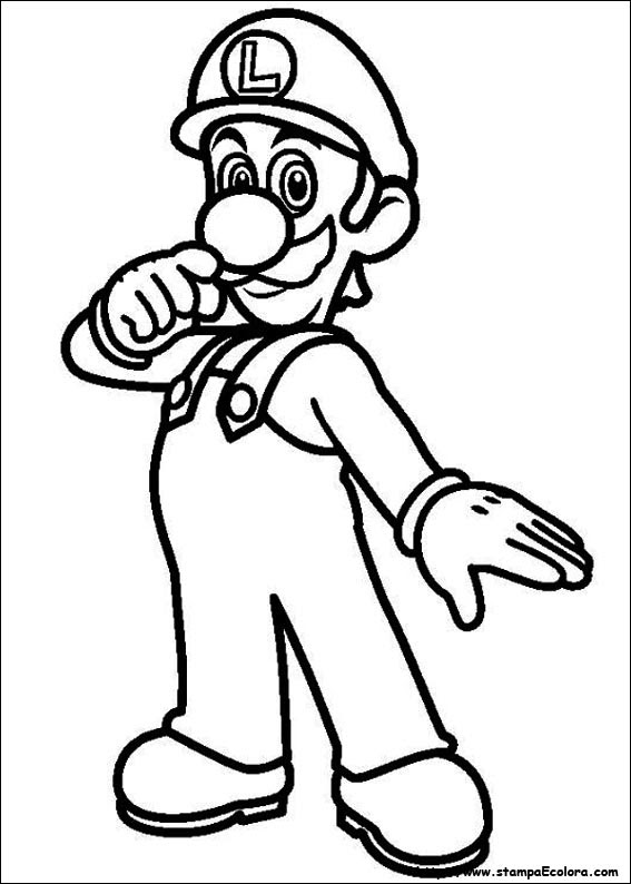Disegni Di Super Mario Bros Da Colorare