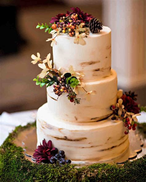 53 Fall Wedding Cakes We're Obsessed With   Martha Stewart