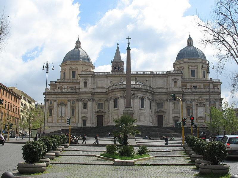 Archivo:Piazza Esquilino, Santa Maria Maggiore.JPG