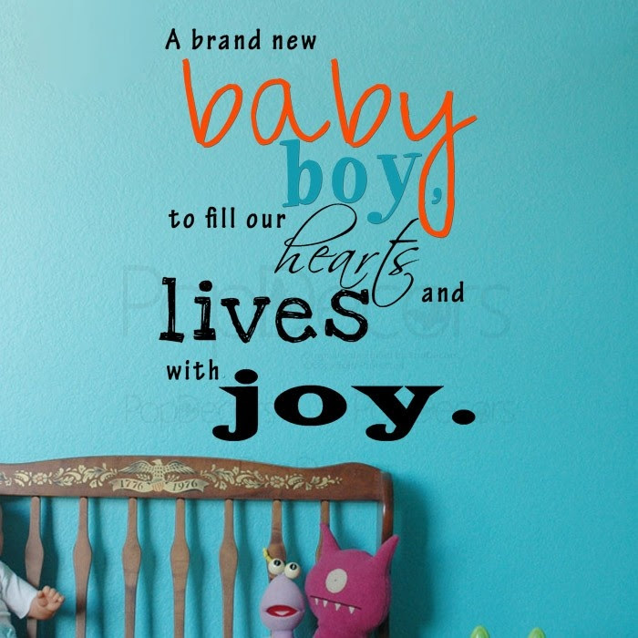Welcome Baby Boy Quotes Islanuevodiarioco
