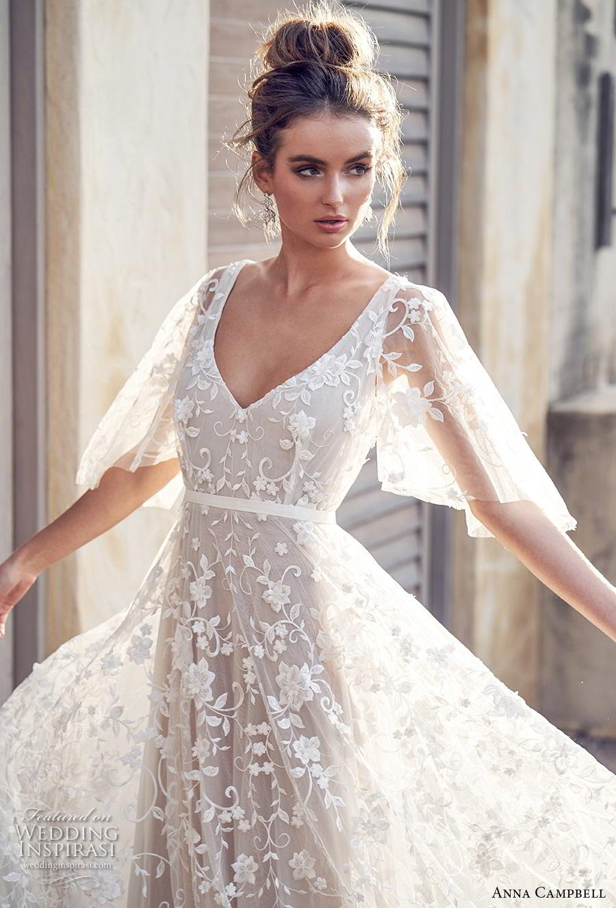 "8b354efa2a Anna Campbell 2019 Wedding Dresses — ""Wanderlust"" Bridal Collection |  Wedding Inspirasi"