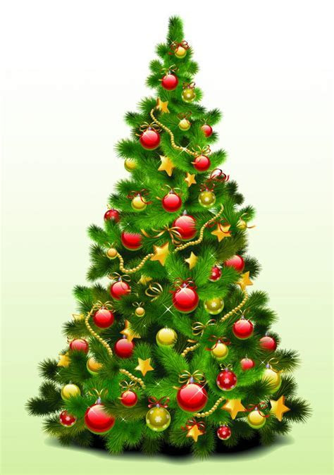 Exquisite christmas tree (25023) Free EPS Download / 4 Vector