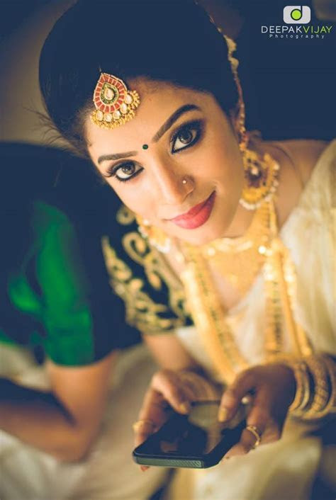 The Gorgeous South Indian Brides by Bronzer Bridal Makeup