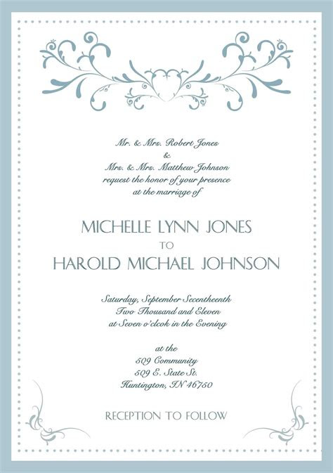 lovely formal wedding invitation wording cars
