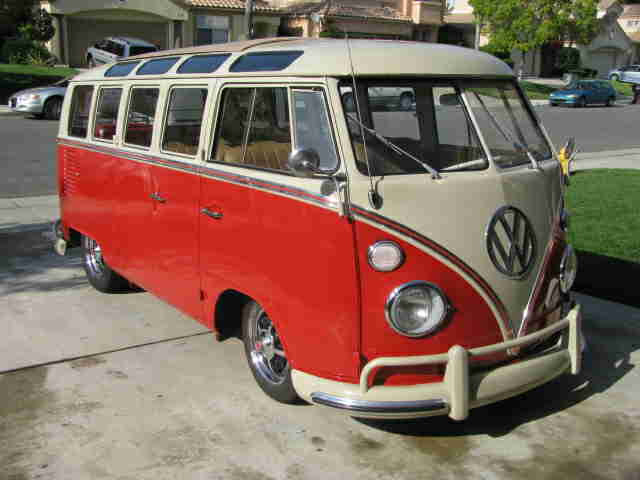 1965 vw 21 window microbus for sale  oldbug