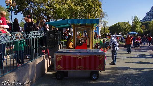Disneyland Resort, Disneyland, Fantasyland, Dumbo, Casey Jr., New, Themed, Churro Cart
