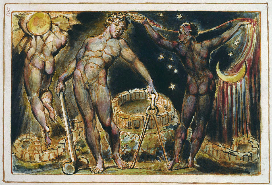 """Enter An Archive Of William Blake's Fantastical """"Illuminated Books"""": The Images Are Sublime, And In High Resolution by Josh Jones for Open Culture"""