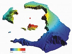 Magma (Foto: Michelle Parks/Universidade de Oxford/Divulgação)