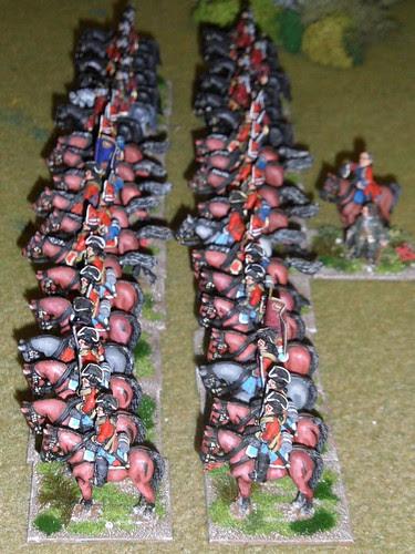 Finest British cavalry