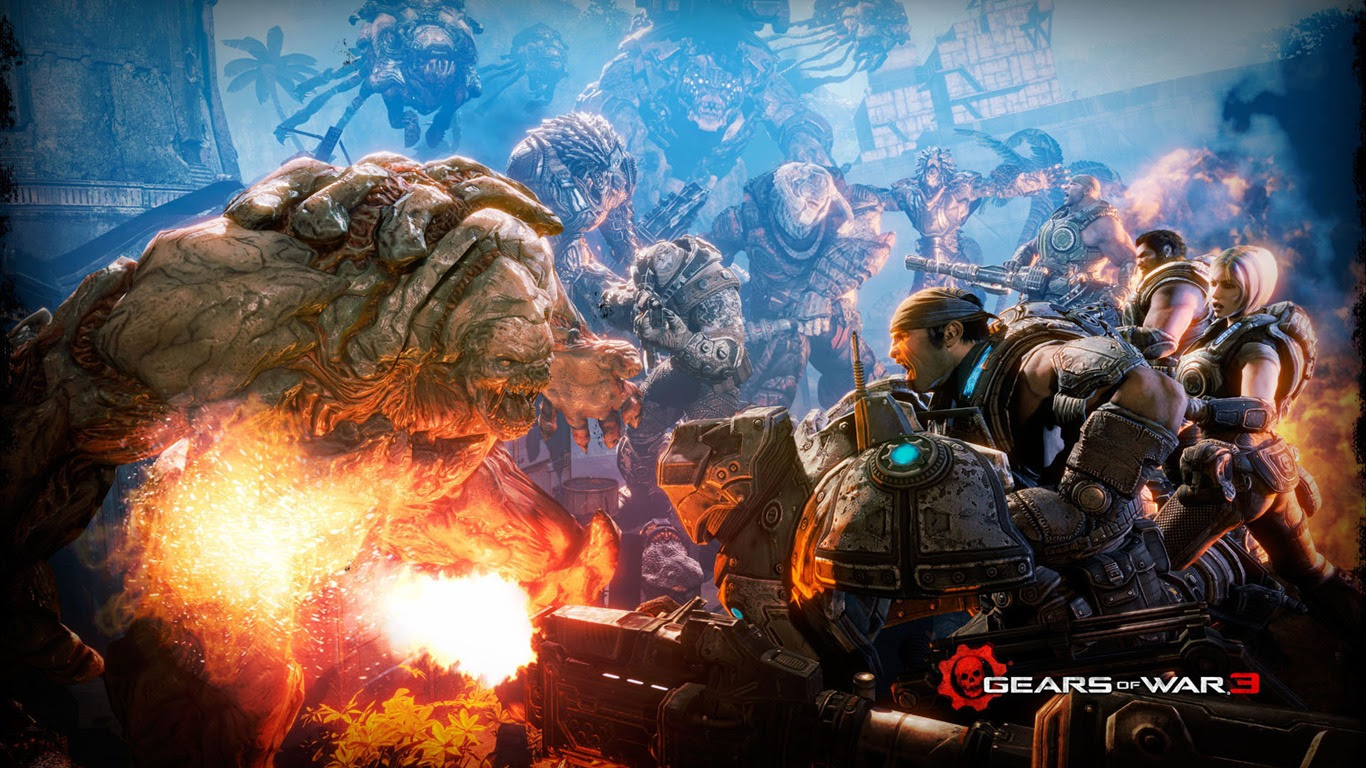 Gears Of War 3 Hd Wallpapers 14 1366x768 Wallpaper Download